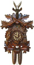German Cuckoo Clock 8-day-movement Carved-Style 19