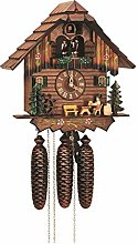 German Cuckoo Clock 8-day-movement Chalet-Style