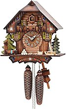 German Cuckoo Clock 8-day-movement Chalet-Style 13