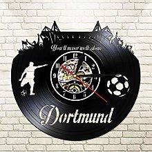 German Dortmund City Skyline Vinyl LP Record Wall