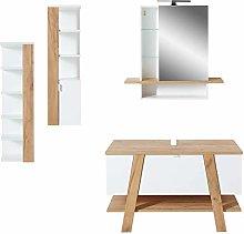 Germania 4-Piece Bathroom Set 8303-513 GW-Novolino