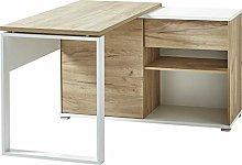 Germania Desk, White, B/H/T: 120/75/117