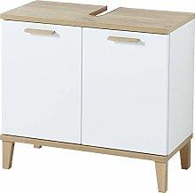 Germania Wall-Mounted Cabinet, White, Montierte