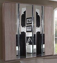 Germanica DIRANO Bedroom Furniture 5 Door Wardrobe
