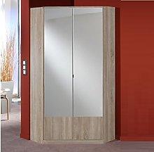 Germanica™ IMAGE 2 Door Mirrored Corner Wardrobe