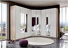 Germanica™ SPEYER 9 Door Bedroom Corner Wardrobe