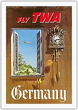 Germany - Fly TWA (Trans World Airlines) - German