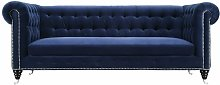 Gertrudes 4 Seater Chesterfield Sofa TOV Furniture