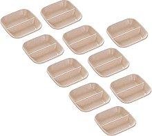 Gespout Set of 10Dessert Plates Sauce Dish Plate