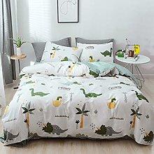 GETIYA Children's dinosaur bed linen, 100 x