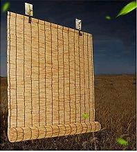 GeYao Natural Reed Curtain,Roman Blinds Louver