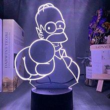 GEZHF 3D Illusion LED Lamp for Kids Led Night