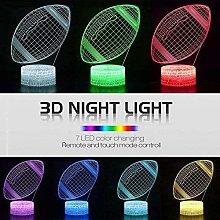 GEZHF 3D Light for Kids 3D Illusion Battle Royale