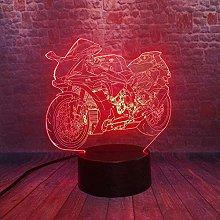 GEZHF Festival 3D Illusion Night Light Dollar Sign