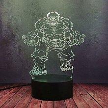 GEZHF Marvel Avengers League Anti-Hero LED Desk
