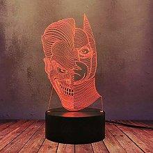 GEZHF The Dark Knight Rises DC Comic LED Desk Lamp