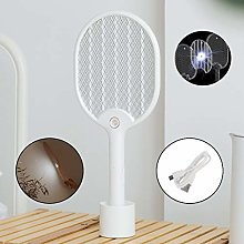 GFBHGF Electric Bug Zapper Fly Swatter with Base,