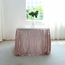 GFCC Pack of 2 Seamless Table Cover Rose Gold