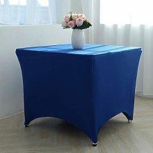GFCC Spandex Rectangular Stretch Tablecloth Navy