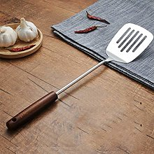 GFHGERIU Stainless Steel Solid Wood Handle Spatula
