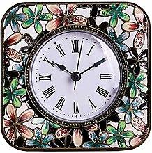 GFHN Mantle Clock Quartz Silent Desktop Table
