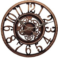 Gfhrisyty Number Wall Clock Courtyard Clock Large