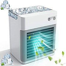 GFRYY Portable Air Conditioner Fan, Quiet USB