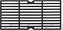 GFTIME 43cm Enamelled Cast Iron Grate for Gas