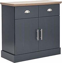 GFW Kendal Modern Slate Blue Liing Room Furniture