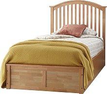 GFW Madrid Ottoman Single Bed Frame - Oak Effect