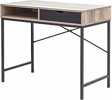 GFW Telford Modern Computer Desk, Dressing Table