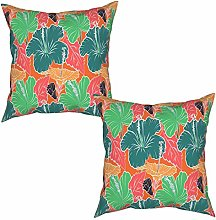 Gggo 2Pcs Cushion Covers Pattern for summer