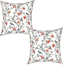Gggo 2Pcs Cushion Covers Pattern with hand drawn