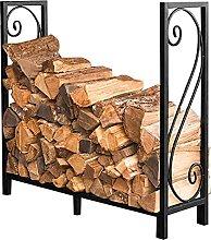 GGHHJ Firewood Rack, Large Wide Fireplace Log