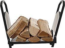 GGHHJ Firewood Rack Wood Holders Fireplace Log