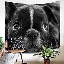 GGSDDU Cute Animal Wall Tapestry,Pet Dog Tapestry