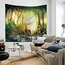 GGSDDU Trippy Aesthetic Wall Tapestry Boho Hippie
