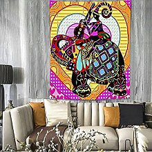 GGSDDU Trippy Colorful Tapestry Wall Hanging