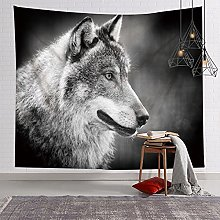 GGSDDU Wall Tapestry Hippie Animal Wolf Tapestry