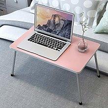 GGYDD Folding lap desk,Brekfast Bed table Notebook