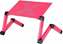 GGYDD Folding lap desk,Desk laptop stand for bed