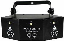 GH-YS Stage Lights,9-Eye RGB Scan Projector,LED DJ