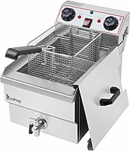 GHAMZ 8L Deep Fat Fryer with Faucet