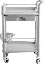 GHCXY Movable Trolleys, Household Serving Cart 2