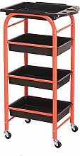 GHCXY Movable Trolleys, Household Serving Cart 4