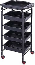 GHCXY Movable Trolleys, Household Serving Cart 5