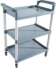 GHCXY Movable Trolleys, Household Serving Cart