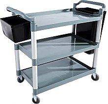 GHCXY Movable Trolleys, Kitchen Storage Hand