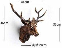 GHFT Ornamentshome Decoration Deer Head Animal