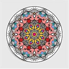 GHGD 100X100-Bohemian Mandala Round Carpet